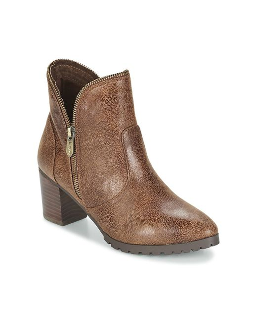 Les P'tites Bombes - Brown Charline Low Ankle Boots - Lyst