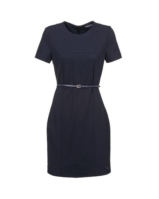 Tommy Hilfiger - Blue Mansi D3 Dress Ss Dress - Lyst