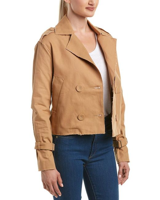 C/meo Collective - Brown Collective Blind Truth Jacket - Lyst
