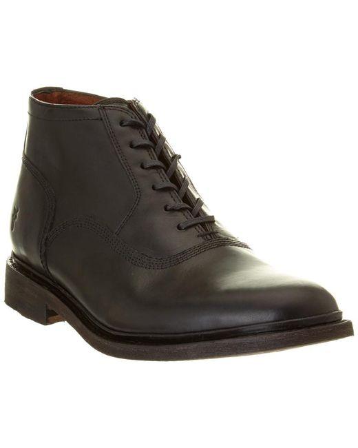Frye - Black Men's James Bal Leather Chukka Boot for Men - Lyst