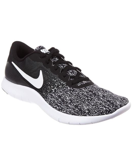 e155ab1657aa1 Nike Flex Contact Running Shoe in Black for Men - Save 20% - Lyst