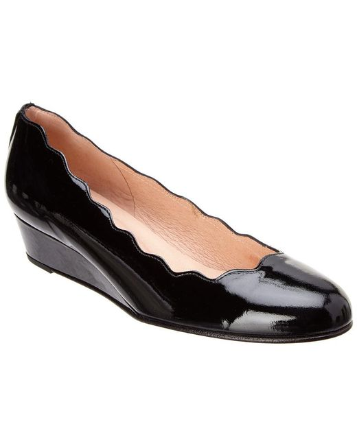 French Sole - Black Dickens Leather Wedge - Lyst