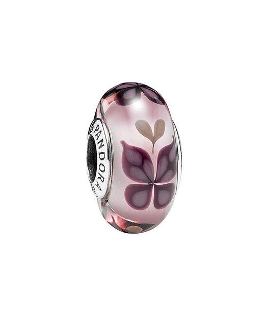 Pandora - Multicolor Silver Murano Glass Charm - Lyst