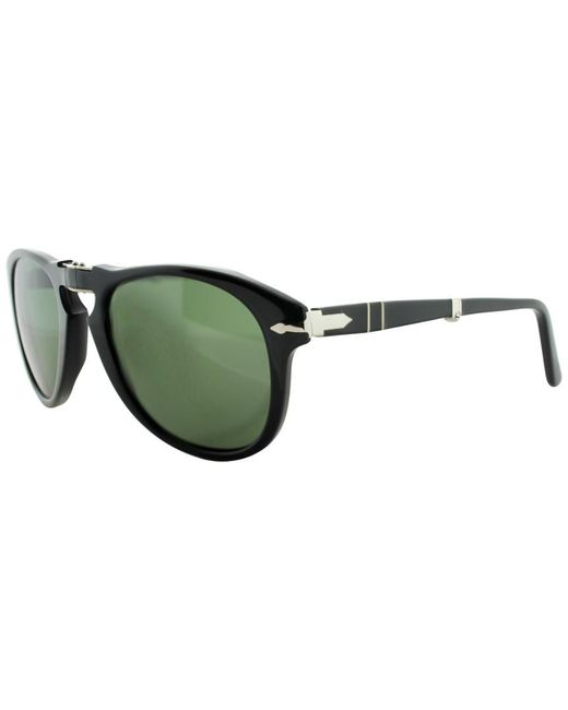 Persol - Black Unisex Po714 52mm Sunglasses - Lyst