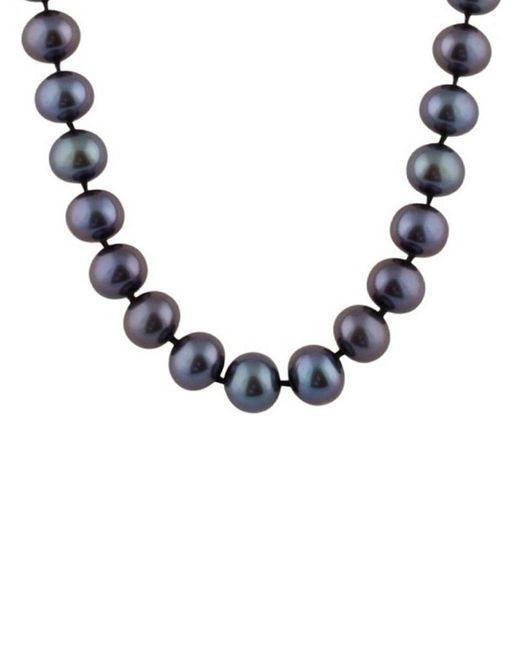 Splendid - Blue 14k 7.5-8mm Freshwater Pearl Strand Necklace - Lyst