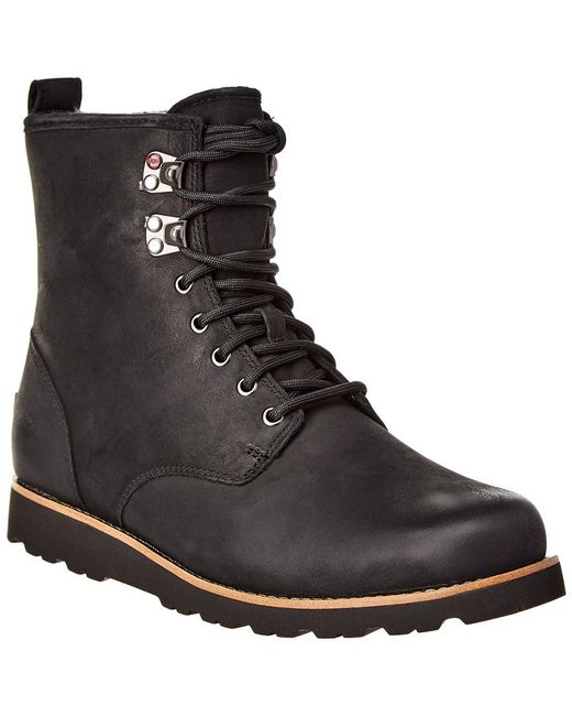 Ugg Metallic Hannen Suede & Wool-lined Waterproof Boot for men