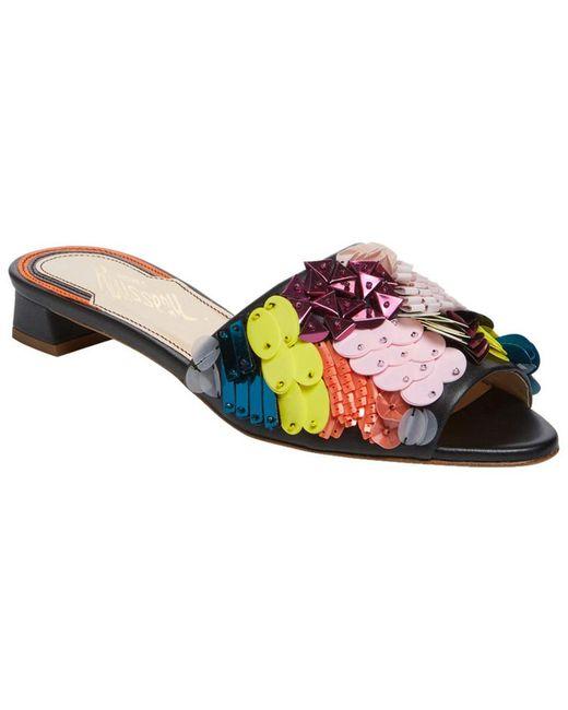 Jerome C. Rousseau - Multicolor Delair Beaded Slip-on Sandal - Lyst