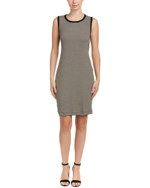 Splendid | Black Knotted Back Tank Dress | Lyst