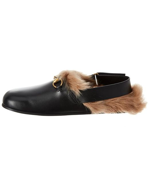 e29315466ffb ... Gucci - Black Horsebit Slipper for Men - Lyst