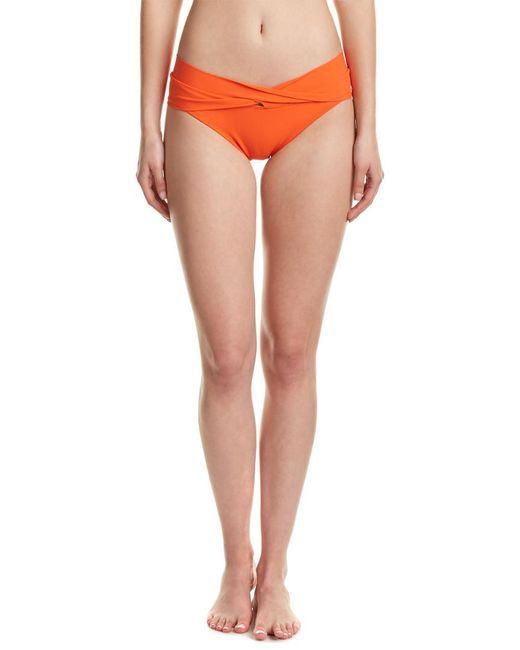 Robin Piccone - Orange Twist Bottom - Lyst