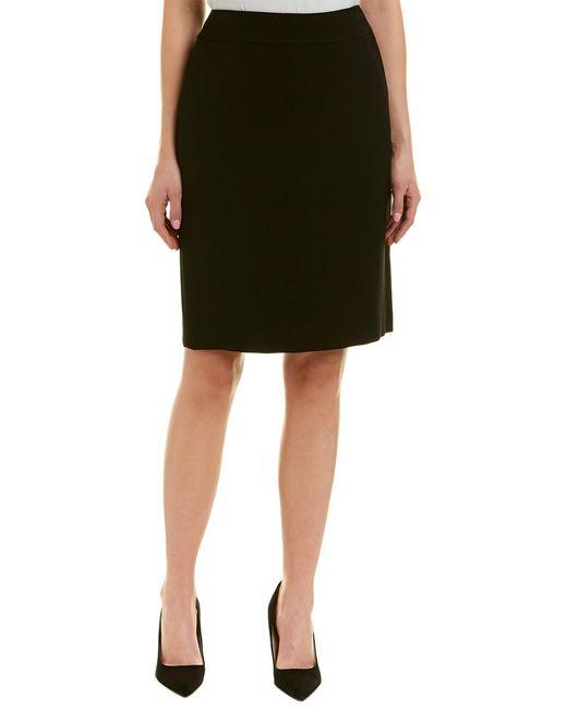 Tahari - Black Tahari Asl Pencil Skirt - Lyst