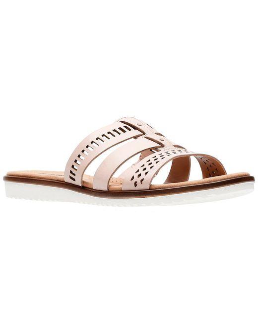 Clarks - Multicolor Kele Willow Leather Sandal - Lyst