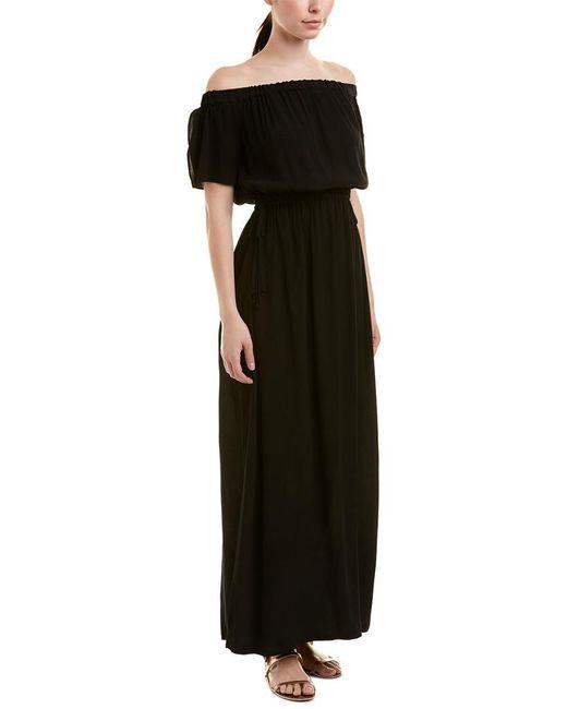 1.STATE - Black Maxi Dress - Lyst