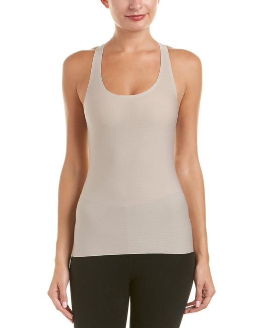 Spanx | Gray ® Perforated Racerback Tank | Lyst