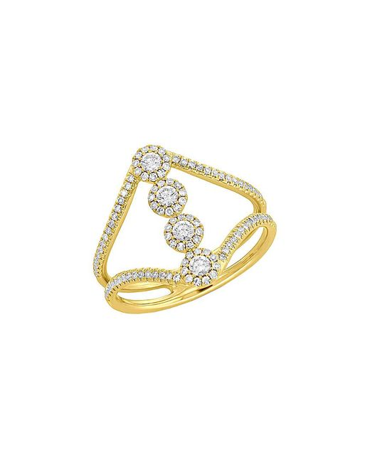 Diana M - Metallic . Fine Jewelry 14k 0.50 Ct. Tw. Diamond Ring - Lyst