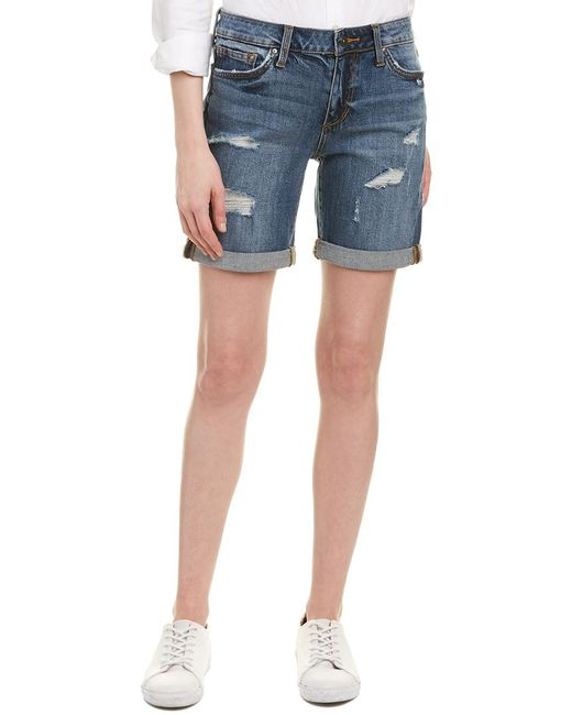Joe's Jeans Blue Giata Bermuda Short