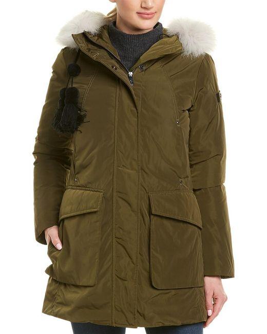 Peuterey - Green Regina Down Jacket - Lyst