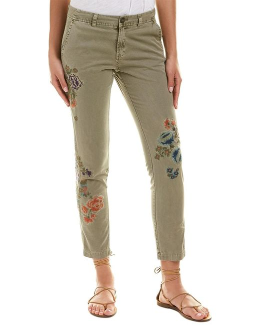 Johnny Was - Green Love Pant - Lyst