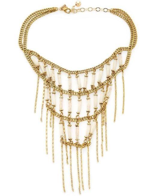 Vanessa Mooney - Metallic The Magdalena Layer Necklace - Lyst