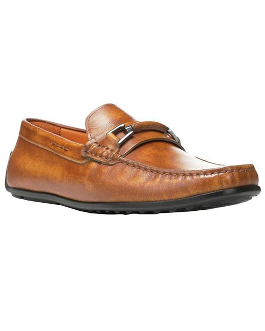 Donald J Pliner - Brown Imari Leather Driving Loafer for Men - Lyst