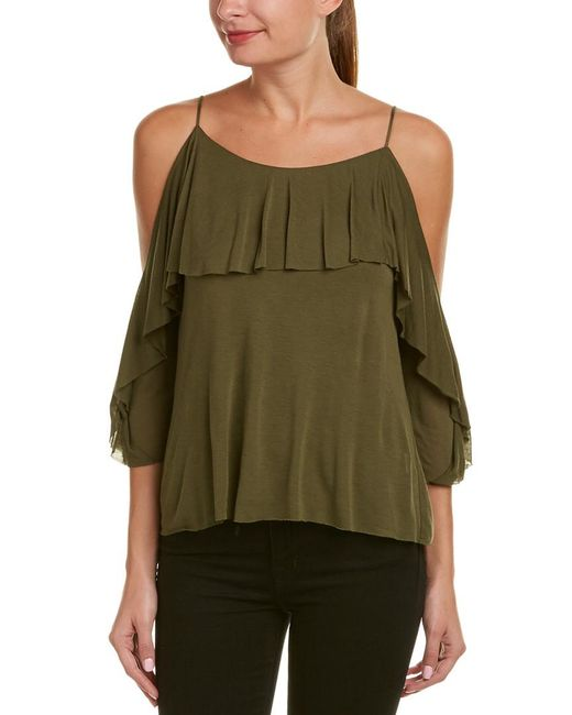 Bailey 44 - Green Havana Top - Lyst