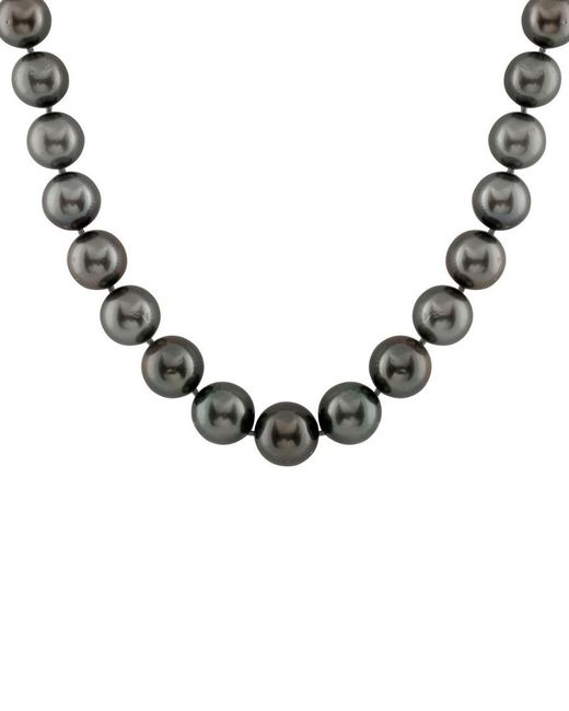 Splendid - Metallic 14k 8-10mm Tahitian Pearl Necklace - Lyst