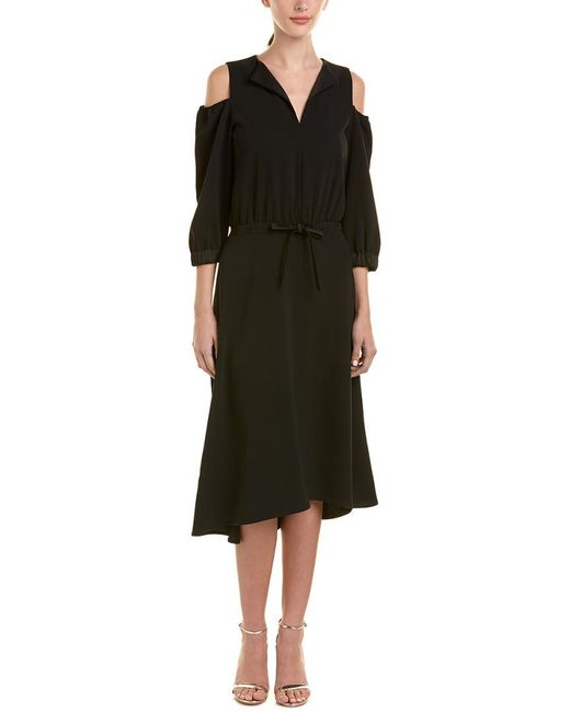 Max Mara - Black Marella By Midi Dress - Lyst