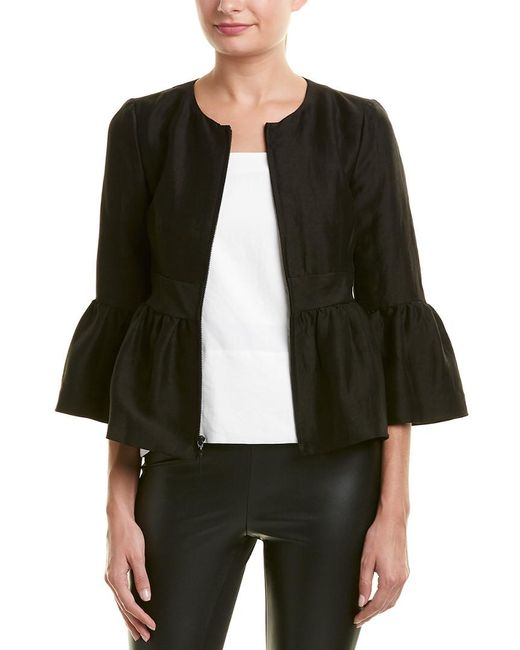 Nanette Lepore - Black Jacket - Lyst