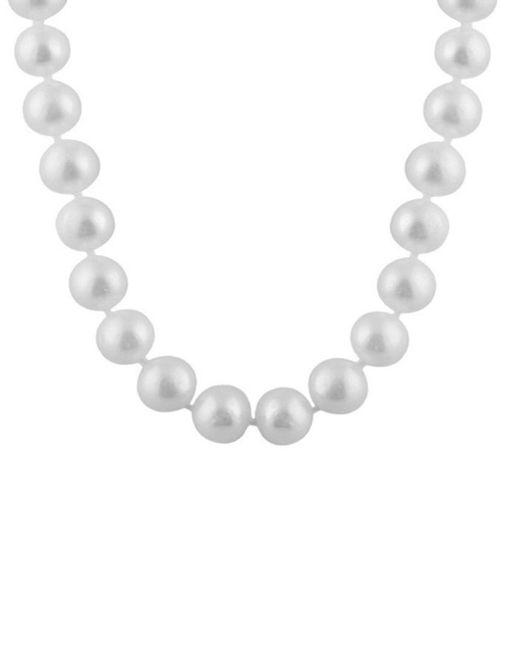 Splendid - Metallic Freshwater Pearls 14k Yellow Gold 8-8.5mm Freshwater Pearl Necklace - Lyst
