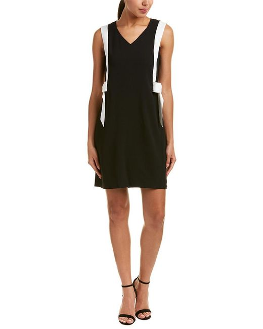 Cece by Cynthia Steffe - Black Shift Dress - Lyst