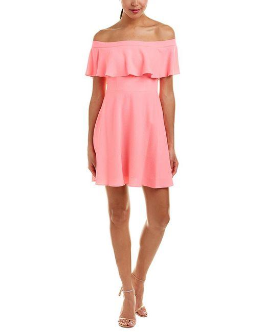Black Halo - Pink A-line Dress - Lyst