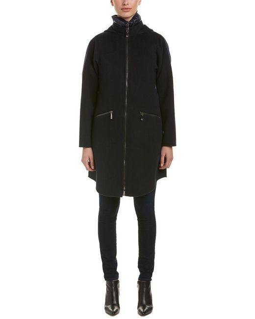 Dawn Levy - Black Parker Wool-blend Coat Vest Combo - Lyst