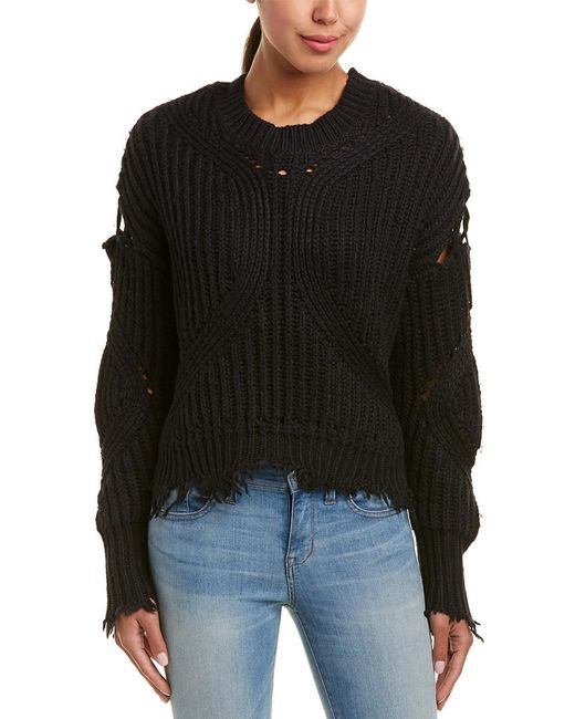 Wildfox - Black Alyx Sweater - Lyst