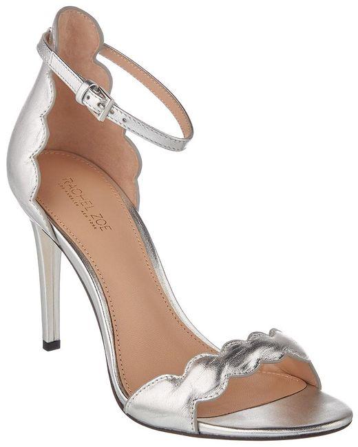 Rachel Zoe - Metallic Ava Leather Sandal - Lyst