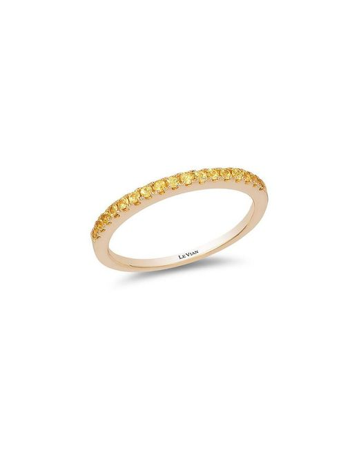 Le Vian - Metallic Sunny Yellow Sapphires And 14k Honey Gold Ring - Lyst