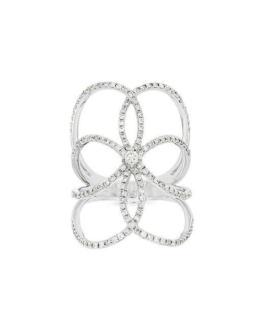 Diana M - Metallic . Fine Jewelry 14k Rose Gold 0.62 Ct. Tw. Diamond Ring - Lyst