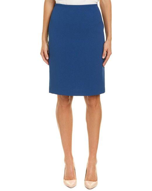 Tahari - Blue Tahari Asl Pencil Skirt - Lyst