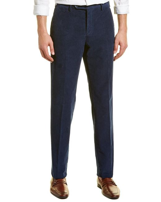 Zanella - Blue Curtis Corduroy Pant for Men - Lyst
