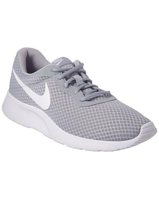16e37e079ccbd Nike - Gray Men s Tanjun Casual Sneakers From Finish Line for Men - Lyst ...
