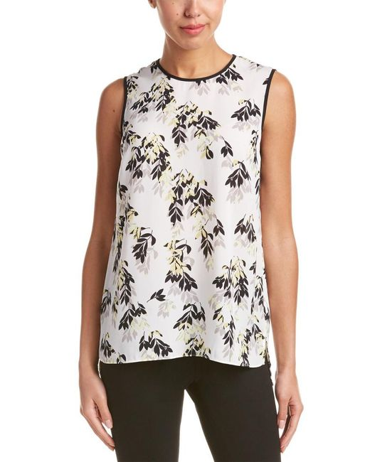Vince Camuto - White Blouse - Lyst