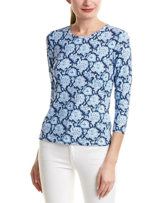J.McLaughlin - Blue Catalina Cloth Top - Lyst