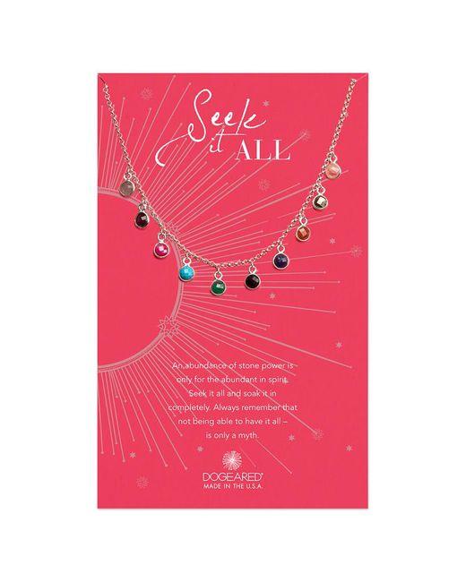 Dogeared - Multicolor Seek It All Necklace - Lyst
