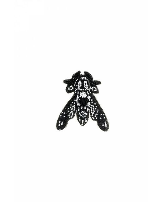 Forest Of Chintz | Black Behe-moth Brooch | Lyst