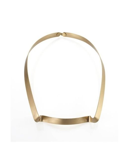 Noritamy | Metallic Small Obi Necklace | Lyst
