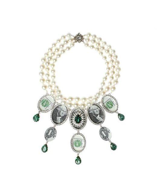 Bijoux De Famille | Green Million Dollar Chandelier Necklace | Lyst