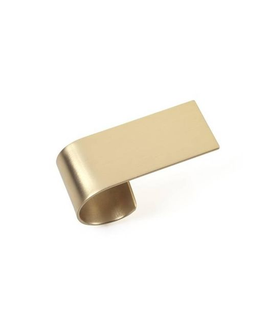 Noritamy - Metallic Obi Large Ring - Lyst