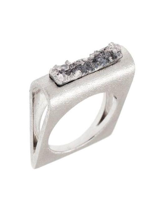 Pasionae   Metallic Folded Ring   Lyst