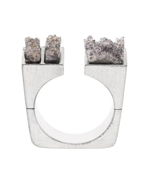 Pasionae | Metallic Open Top Ring | Lyst