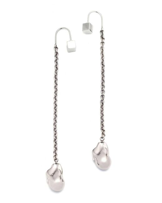 Caterina Zangrando | Metallic Nana Palladium Earrings | Lyst