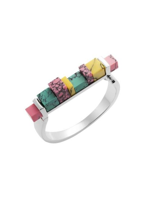 Eshvi | Multicolor Back To School Marble Hinge Bracelet | Lyst